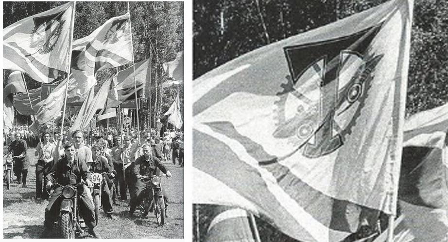 туристы торпедовцы в 1954