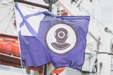 флаг на СБС-45, 2014 г
